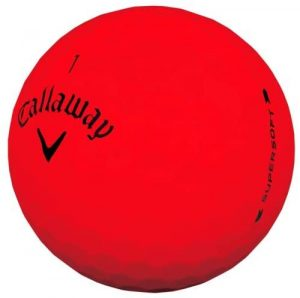 callaway golf supersoft red review